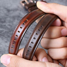 Genuine Leather Wrist Watch Band For Invicta Men's Watch Strap Quick Release