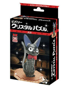 Crystal 3D Puzzle Kiki's Delivery Service 36 Pieces BEVERLY New 50272 Black F/S
