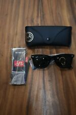 NEW RAY BAN Original  RB2140 901 Matt Black/G15 Green 50mm Lens Sunglasses