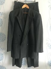 Emporio Armani Rare Vintage Pure New Wool Double-breasted Suit, size 48R/38 UK.