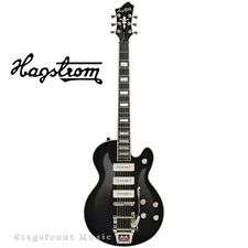 HAGSTROM HSTRESUSWEP SUPER SWEDE P90 ELECTRIC GUITAR WITH TREMAR. CASE INCLUDED