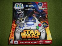 Star Wars Revenge of the Sith Yoda Limited Edition Plug it in & Play TV 5 Games