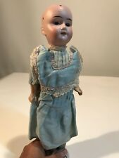 "Antique Theodor Recknagel 14"" Porcelain Head Doll  1914 DEP ""R 6/0 A"" Germany"