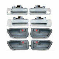 For 97-01 Toyota Camry DH92 4 Gray Inside & 4 White 040 Outside Door Handle Set