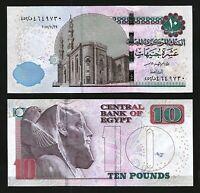 Egypt 10 Pounds 29-10-2018, UNC- , P-New Date