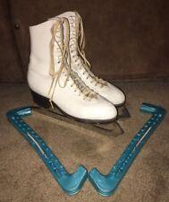 Vtg Harlick Mk Professional Model Ice Skates Sz 6A Womens