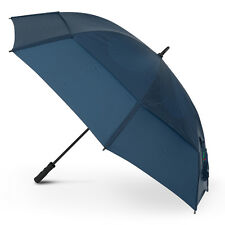 """GustBuster Pro Series 62"""" Vented Windproof Golf Umbrella - Navy"""