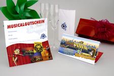 DER KÖNIG DER LÖWEN 2 Tickets PK 3 Musical in Hamburg Gutschein + Soundtrack CD