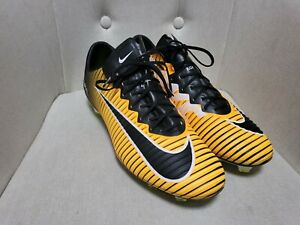 Nike 831958-801 Mercurial Vapor 11 FG Orange US13 Like New Football/Soccer Boots