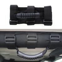 Black 1 Pair Car Roll Bar Grab Handle Handles Grip For Jeep Wrangler CJ/YJ/TJ/JK