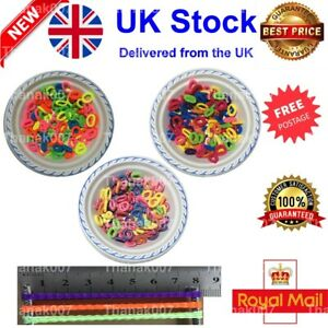 PACK OF ASSORTED COLOURS GIRLS BABY TODDLER KIDS ELASTIC HAIR BAND BOBBLES UK