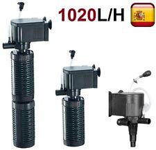 Filtro bomba de agua para acuario pecera oxigenador sumergible 3 en 1 1020 L/H 1