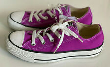 NEW CHUCK TAYLORS CONVERSE UNISEX OXFORD PURPLE VIOLET CASUAL SNEAKERS 6 36 SALE