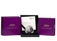 2017 Great Britain Centenary: House of Windsor Silver Proof £5 OGP SKU47780