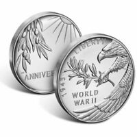 2020 End of World War II 75th 1 oz .999 Silver Medal Eagle 1945 20XH Rare