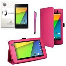 """Carcasas, cubiertas y fundas de rosa de piel sintética para tablets e eBooks 7,7"""""""