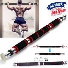 Gym Chin Upper Doorway Excercise ACB# Pull Up Bar Body Workout Fitness Door Home