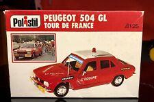 PEUGEOT 504 GL TOUR DE FRANCE - POLISTIL 1/25