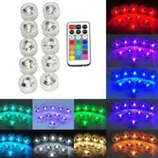 31X Schwimmbadleuchten RGB LED Home Whirlpool Beleuchtung Dekore Fernbedienung