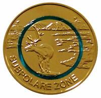 5 Euro Münze ,,Subpolare Zone 2020'' Stempelglanz (G), 24 Kt Goldauflage