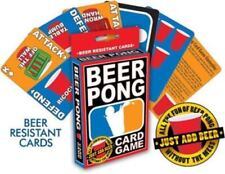 Beer Pong Card Game Art Illustrated Poker Size Playing Cards Deck, NEW SEALED