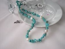 Gemstone Turquoise Costume Necklaces & Pendants