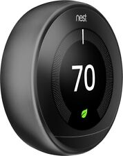Nest Thermostat 3rd Generation - Black(ONLY DISPLAY) - Read Description!