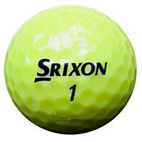 60 Srixon Q-Star Gelb Golfbälle im Netzbeutel AA/AAAA Lakeballs Bälle QStar Golf