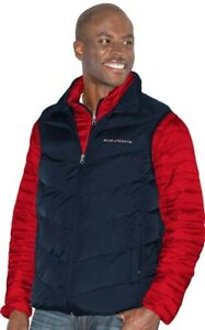 Columbus Blue Jackets Mens 3 in 1 Systems Jacket Embroidered Logo Red Navy XL