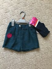 NEW Shorts Bloomers Sparkly Tights Outfit 4-5yr BNWT Party Girl Clothing Holiday