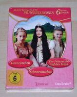 Favola Principesse 3 Film Digipak Edizione IN Cofanetto DVD Nuovo & Originale