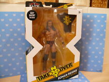 WWE NEW MATTEL ELITE SERIES NXT TAKEOVER ROMAN REIGNS WRESTLING FIGURE MOC