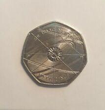 2017 Isaac Newton 50p Coin