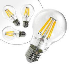 4er E27 8W LED Lampen Birne Filament Leuchtmittel Glühbirne 800 Lumen warmweiss