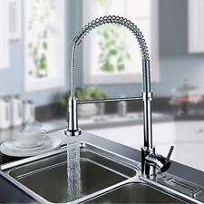 Chrome Pull Out Kitchen Faucet Water Flow One Hole/Handle Cheap Discount
