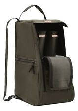 SALE Hunter Wellies Wellington Boots Olive Green Boot Bag With Extra Pockets
