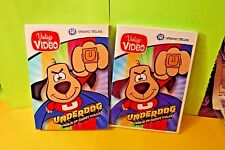 NEW/SEALED VINTAGE VIDEO UNDERDOG PERILS OF SWEET POLLY DVD + SLIPCOVER(2016)!