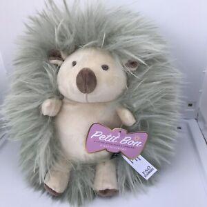 "FAO Schwarz Petite Bon Hedgehog Designer Plush Gift Toy 10"" New with Tag"