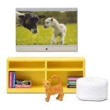 LUNDBY™ 60.2091 smaland TV Set für Puppenhaus 1:18