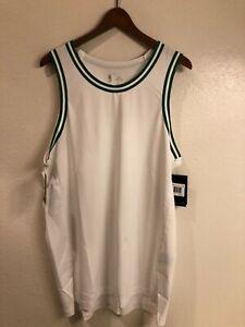 NWT Nike Aeroswift Boston Celtics authentic blank jersey AH8789-100 (size: 48)