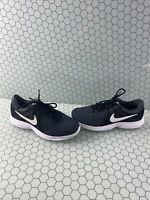 Nike Revolution 4 Black Lace Up Low Top Running Sneakers Men's Size 7