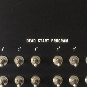 Dead Start Panel from Control Data Super Computer 1967