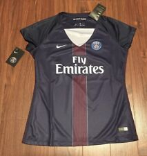 Paris Saint-Germain PSG Nike Football Soccer Jersey Women's Large New With Tags