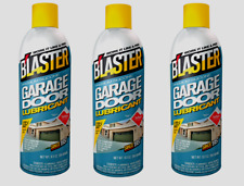 3~Blaster Silicone Garage Door Lubricant Silicone Quiets noisy operation 16-GDL