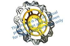 PER MOTO GUZZI 1200 Stelvio NTX AB 09>10 EBC VR DISCO FRENO ORO mozzo Ant Dx