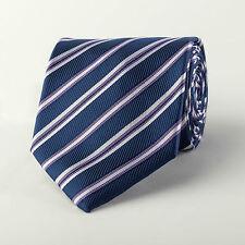 Purple Designer Striped Formal Luxury Fashion Woven Necktie B2B Mens Accessory