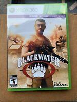 Blackwater (Microsoft Xbox 360, 2011) Brand New