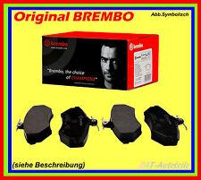 Bremsbeläge Brembo SATZ-HA-passend für SUBARU Imperza Stufenheck 2.0 WRX STi AWD