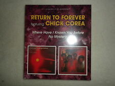 "2 CD RETURN TO FOREVER ""Where have I known you before / No mystery"" Neuf µ"