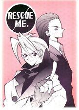 Final Fantasy 7 VII Doujinshi Manga ComicTseng x Rufus Shinra Rescue Me